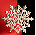 Lenox 2015 Snow Fantasies Snowflake Ornament