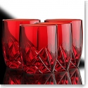 Marquis By Waterford Brookside Red DOF Glasses, Set of Four