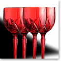 Marquis by Waterford Brookside Red All Purpose Wine Glasses, Set of Four