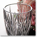 Marquis by Waterford Brookside Hurricane Rose Vase
