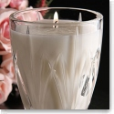 Marquis By Waterford Brookside Filled Rose Scented Candleholder