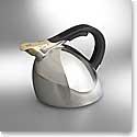 Nambe Metal Gourmet Chirp Kettle, 2.6 Qt