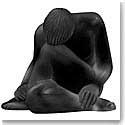 Lalique Nude Reve Sculpture, Black