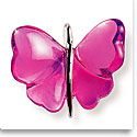 Lalique Papillons Butterfly Pendant, Fuchsia