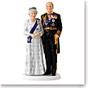 Royal Doulton Queen Elizabeth's Platinum Wedding Anniversary, Limited Edition of 1000 Pieces