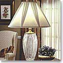 Waterford Reflections Lamp and Shade, 30