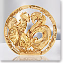 Swarovski Chinese Zodiac Gold Tone Rooster