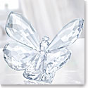 Swarovski Butterfly On Leaf, Clear