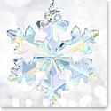 Swarovski 2016 25th Anniversary Aurora Borealis Snowflake Ornament, Limited Edition