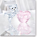 Swarovski Kris Bear with Pink Heart