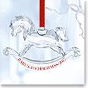Swarovski 2017 Babys 1st Christmas Ornament