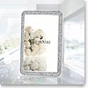 Swarovski Minera Silver Tone Picture Frame