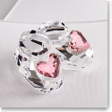 Swarovski Baby Shoes, Pink