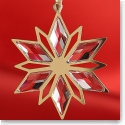 Swarovski Golden Star Christmas Ornament