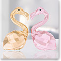 Swarovski Lovlots Flamingos In Love, Claude and Claudine