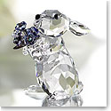 Swarovski Rabbit With Forget-Me-Not