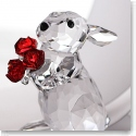 Swarovski Rabbit With Roses