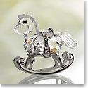 Swarovski Moments Rocking Horse - Rhodium