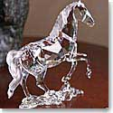 Swarovski Stallion Sculpture