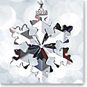 Swarovski 2016 Annual Edition Ornament, Snowflake, 25th Anniversary Celebration