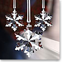 Swarovski Annual Edition 2016 Christmas Snowflake Ornament Set