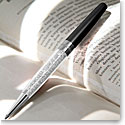 Swarovski Crystalline Stardust Pen, Diamond Crystal and Black