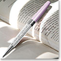 Swarovski Crystalline Stardust Pen, Diamond Crystal and Lilac