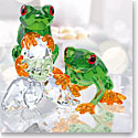 Swarovski Paradise Frogs