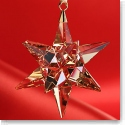 Swarovski 2016 Golden Shadow Star Ornament