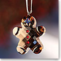 Swarovski Gingerbread Man Ornament