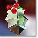 Swarovski Holly Ornament