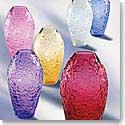 Lalique Violeta Blue Vase