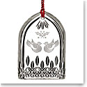 Waterford 12 Days of Christmas Lismore Two Turtle Doves Ornament