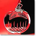Waterford 2015 Lismore Mini Apple Ornament