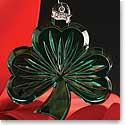 Waterford Green Shamrock 2015 Ornament