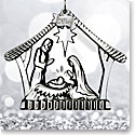 Waterford 2016 Nativity Holy Family Ornament