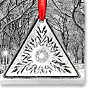 Waterford 2017 Times Square Triangle Ornament