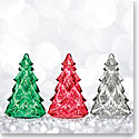 Waterford Mini Christmas Trees Set