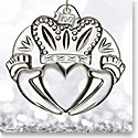 Waterford 2017 Claddagh Ornament