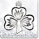 Waterford 2017 Shamrock Ornament