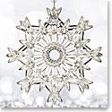 Waterford 2017 Annual Snow Crystal Pierced Ornament