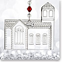 Waterford 2017 Dimensional Church Ornament
