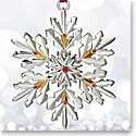 Waterford 2017 Silver Annual Snowflake Ornament