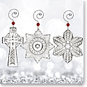 Waterford 2017 Mini Ornaments, Set of 3