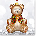 Waterford 2017 Holiday Heirloom Nostalgic Collection Baby's First Teddy Bear Ornament