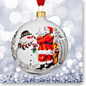 Waterford 2017 Holiday Heirloom Nostalgic Collection Magic of Christmas Ball Ornament
