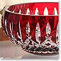 Waterford Araglin Prestige Ruby Bowl, 7in