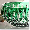 "Waterford Araglin Prestige Emerald Green 7"" Bowl"