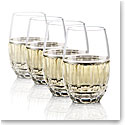 Waterford Bolton Stemless White Wine Glasses, Set of Four