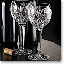 Waterford Huntley Hock Wine Glasses, Pair